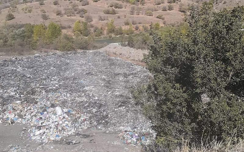 Çöp Toplama Alanı Temizlendi ve Değiştirildi